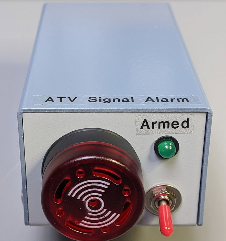 Front view of Valid Signal Alarm